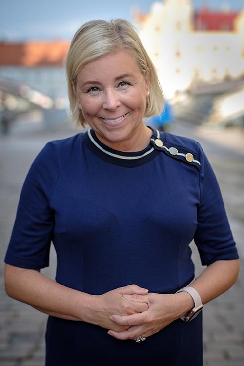 Christina Fosnes, oppositionsråd Kalmar kommun